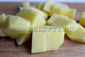 Как варить суп с галушками - шаг 1