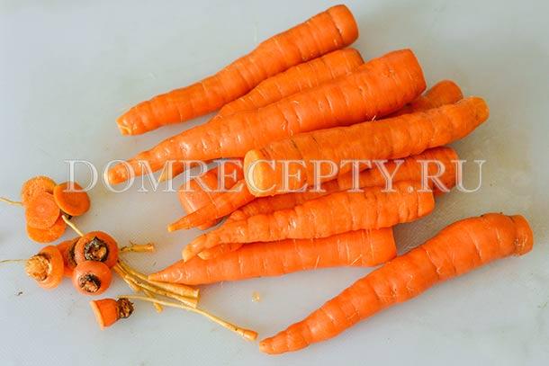 Карамелизированная морковь рецепт