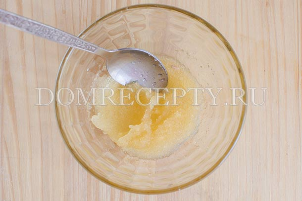 Замачиваем желатин в лимонном соке