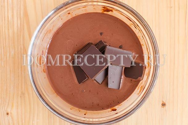 Добавляем черный шоколад