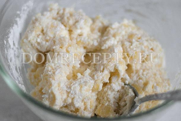 Творожно-картофельное тесто для сырников