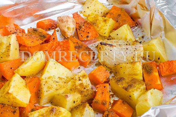 Запекаем овощи до мягкости