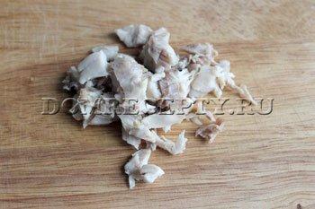 Рецепт блинчиков с начинкой из курицы - шаг 6 - фото