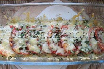 Шаг 7 - Запекаем кабачки с помидорами в духовке