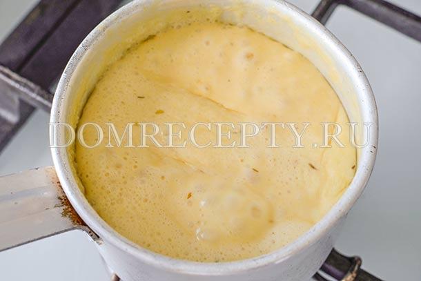 Варим горчично-сливочный соус