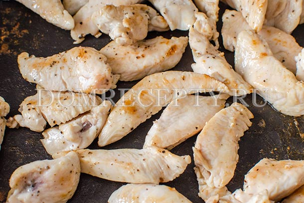 Жарим курицу до румяного цвета