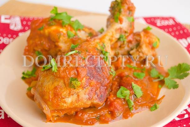 Чахохбили из курицы - рецепт с фото
