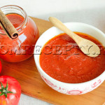 Домашний кетчуп из помидоров с яблоком