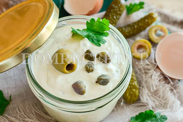 Домашний соус Тартар