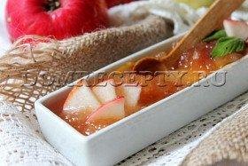 Джем из яблок на зиму - рецепт с фото