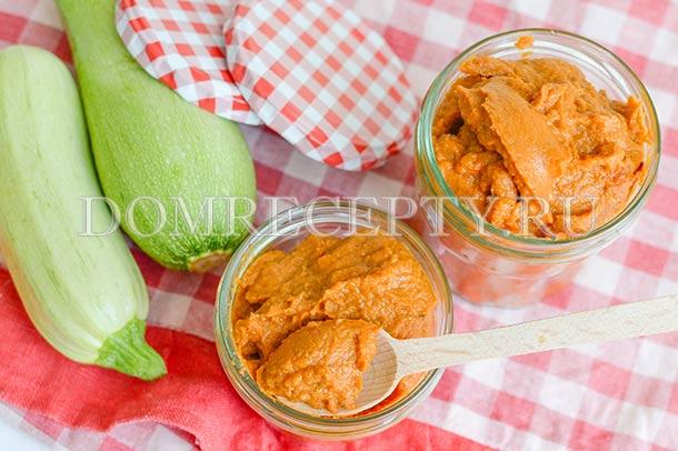 Кабачковая икра по ГОСТу - рецепт с фото