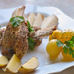 Телячьи ребрышки, запеченные в духовке - рецепт с фото