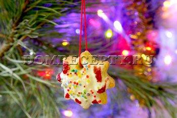 Как приготовить рождественское печенье - фото-рецепт