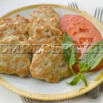 Котлеты из кабачков и фарша - рецепт с фото
