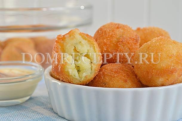 Крокеты из картофеля