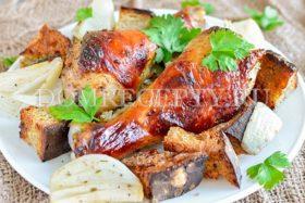 Курица в гранатовом соусе Наршараб