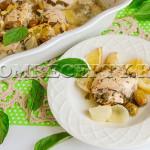 Куриная грудка с лимоном и базиликом