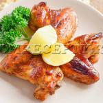 Куриные крылышки в медово-соевом соусе - рецепт с фото