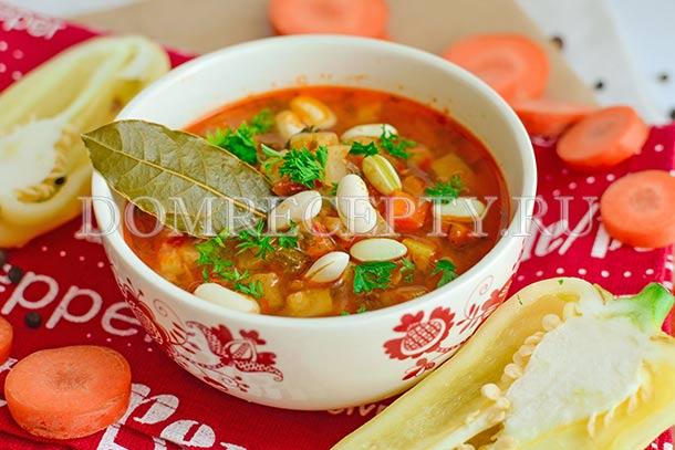 рецепт овощного супа с картофелем