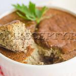 Печеночное суфле - рецепт с фото
