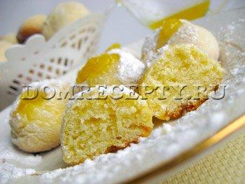 Песочное печенье из тыквы с тыквенным соусом
