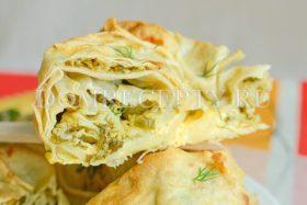 Пирог «Улитка» из лаваша с сыром - рецепт с фото