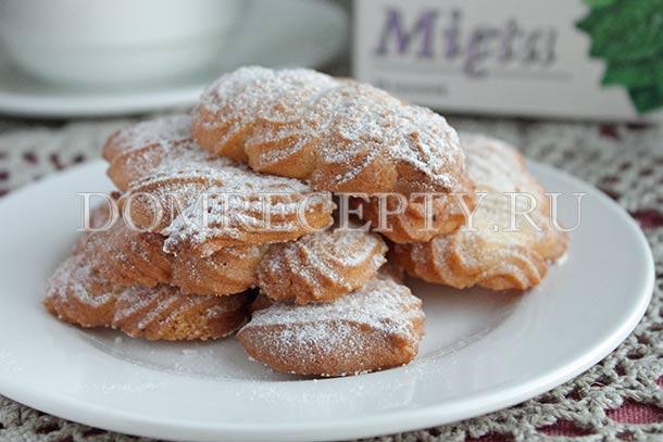 Рассыпчатое песочное печенье - рецепт с фото