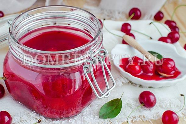 Сладкое вишней рецепт фото