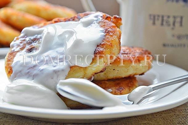 Творожные сырники с тыквой
