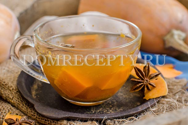 Тыквенно-облепиховый чай