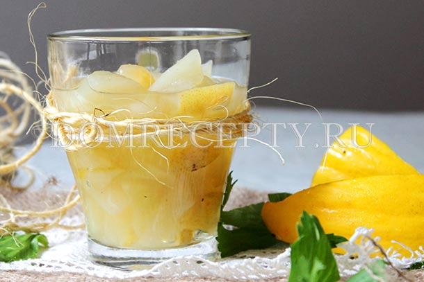 Варенье из дыни с лимоном - рецепт с фото