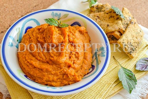 Густой овощной соус с кабачками