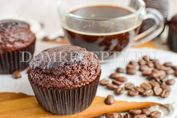 Кофейно-шоколадные маффины