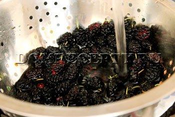 Шаг 2 - Промываем ягоды