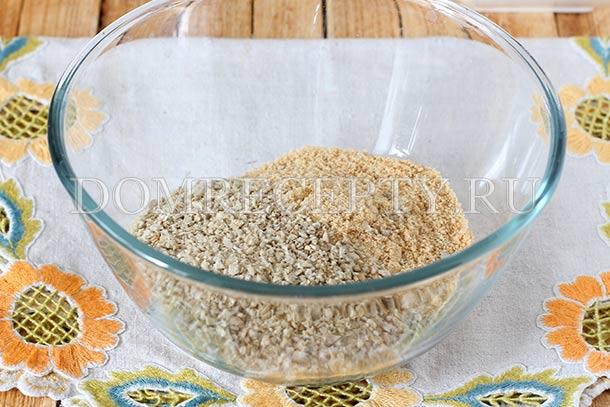 Добавляем измельченные орехи или семечки