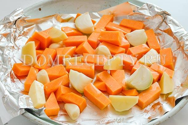 Запекаем овощи в духовке