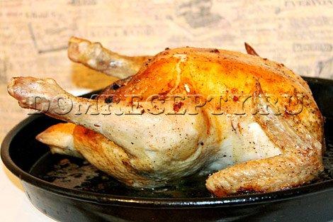 Запекаем курицу в духовке