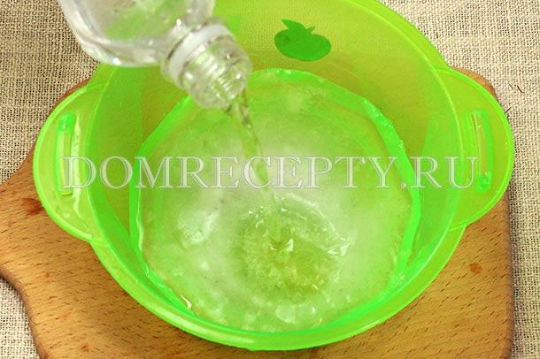 Готовим рассол на минеральной воде