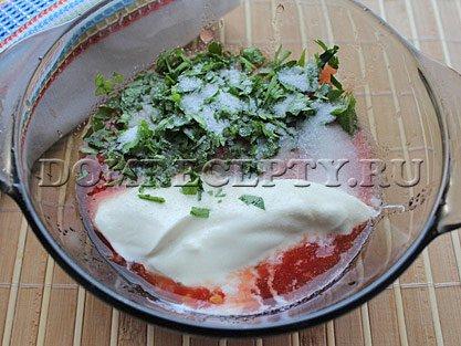 Шаг 6 - Готовим томатный соус