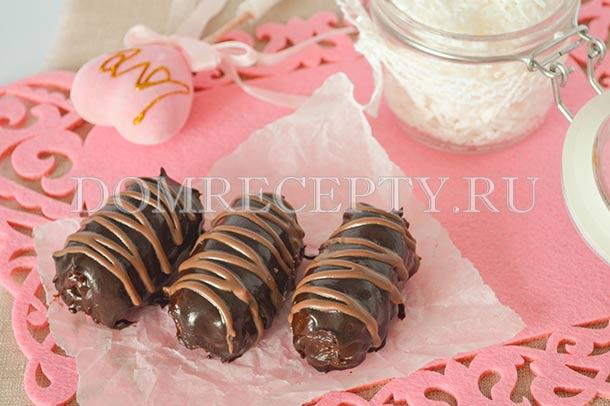 Домашние конфеты «Баунти»