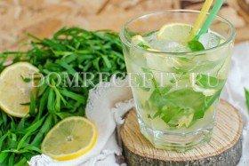 Домашний напиток Тархун