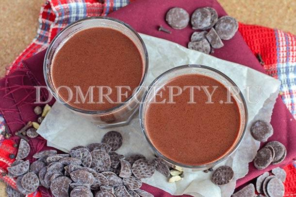 Глинтвейн с шоколадом