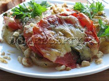 Кабачки в духовке - рецепт с фото