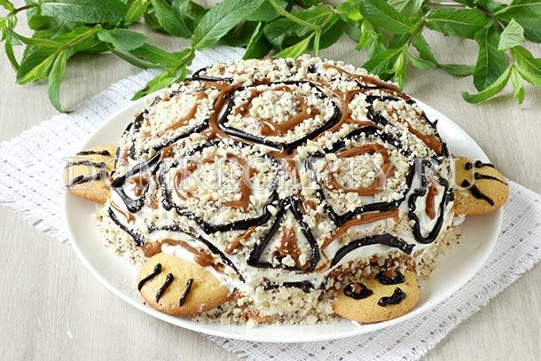 Классический торт «Черепаха»