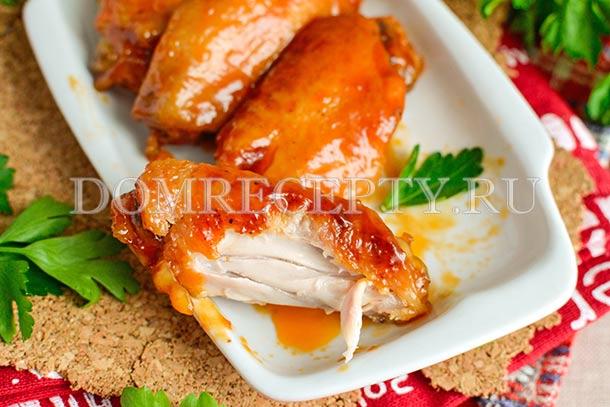 Курица в вустерском соусе