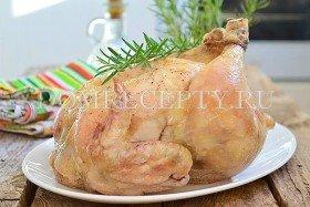Курица, запеченная в фольге в духовке