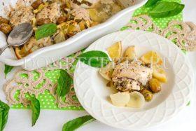 Куриное филе с лимоном и базиликом