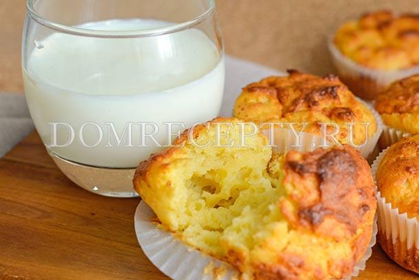 Маффины с творожным сыром