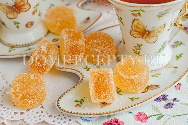 Домашний мармелад из апельсина и лимона