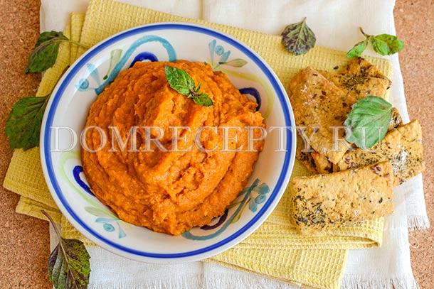 Овощной соус-дип с кабачками
